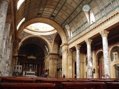 The Birmingham Oratory Pope Benedict Xvi, Italian Baroque, Clerestory Windows, Birmingham England, Baroque Architecture, Baroque Fashion, Roman Catholic, Cathedrals, Great Britain