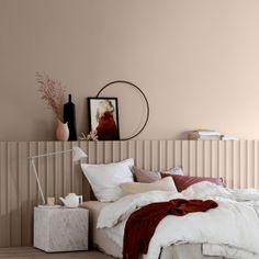 Guide of Minimalist Art Print - prekhome Jotun Lady, Color Trends 2018, Interior Architecture, Interior Design, Skin So Soft, Soft Colors, Colours, Colorful Interiors, Bedroom Decor