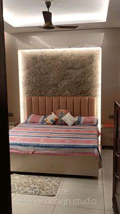 Bedroom False Ceiling Design, Bedroom Wall Designs, Wardrobe Design Bedroom, Room Design Bedroom, Bedroom Furniture Design, Bedroom Layouts, Home Room Design, Modern Master Bedroom, Modern Luxury Bedroom
