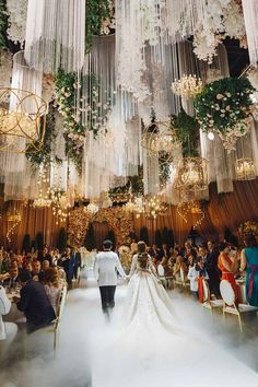 Luxurious wedding in Barvikha from The Studio decor in Moscow. #beautifulwedding #reception #modestbride