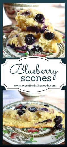 BLUEBERRY scones recipe perfect for brunch, parties, breakfast and more. Really easy blueberry recipe to make ahead of time too.
