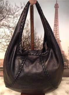 1680-Bottega-Veneta-Bronze-Leather-Intrecciato-Seamed-Hobo-Bag-Handbag-Purse