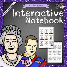 British Royal Family - Interactive Notebook Freebie