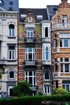 Villa Germaine, Brussels #belgium #house