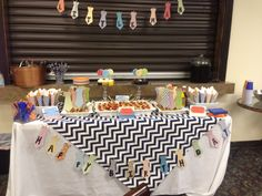 Little man birthday party!