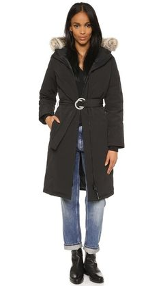 Canada goose women's solaris parka coat