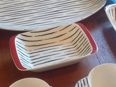 Vintage Zambesi HORS D'OEUVRES dish Retro Jessie Tait Midwinter plate/dish/bowl