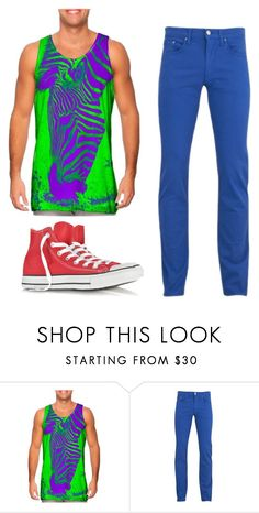 """""""Prince naveen outfit"""" by milliecooke18 ❤ liked on Polyvore featuring Versace, Converse, men's fashion and menswear"""