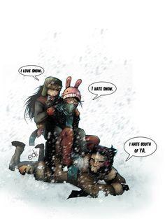 x 23 daken  Wolverine, Daken & Laur...
