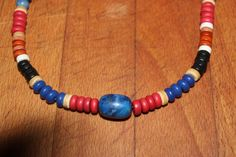 19 Tribal Blue Lapis  Blue Jade Jasper Sea by YourTribeNaturesArt