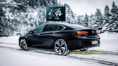 !NEW! 2017 Opel Insignia Grand Sport 4x4 - Torque Vectoring AWD system (HD)