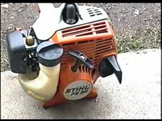 ▶ Easy Repair on STIHL FS38 Grass Trimmer - Clogged Spark Arrester - YouTube