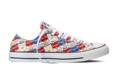New Spring 2015 Converse All Star Andy Warhol Collection features iconic Warhol imagery on footwear and apparel.