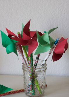 Excited to share this item from my shop: Kids Christmas Stocking Stuff, Holiday party favors, Christmas Stocking Stuffer Party favor pinwheel pencils 6 (custom orders welcomed) Circus Decorations, Christmas Decorations, Kids Christmas Stockings, Red Christmas, Diy Pinwheel, Christmas Party Favors, Birthday Centerpieces, Christmas Stocking Stuffers, Pinwheels