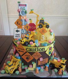 Construction Cake for Boys. Sweet Lealea - Children's Cakes