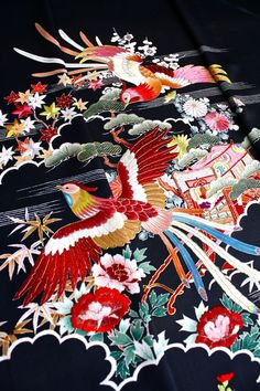 Japanese kimono fabric....this is absolutely lovely