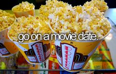 Go on a movie date.