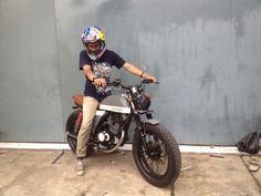 suzuki thunder 125 modified bratstyle