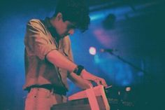 Alan Palomo | Neon Indian - i don't know why but I love his hair