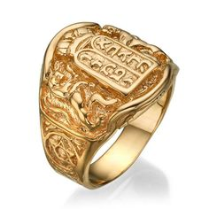 Gold Chain Men Outfit Ten Commandments Gold Collectors Ring, Yellow Gold Men's Ring, Gold Jewish Ring, Lion of Judah 1 - Silver Dollar Coin, Morgan Silver Dollar, David Ring, Mens Rings Etsy, Jewish Jewelry, Gold Chains For Men, Lion Of Judah, Coin Ring, Signet Ring