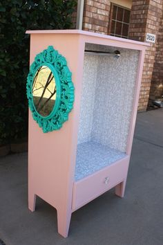 Need something for all the dress up clothes and don't want to spend the $100s I've seen these listed for. DIY Dress Up Station