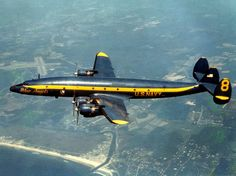 US Navy Blue Angels Lockheed C-121 Super Constellation support aircraft in 1968