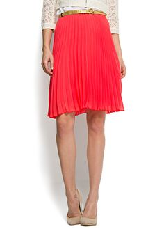 MANGO - CLOTHING - Pleated flared skirt