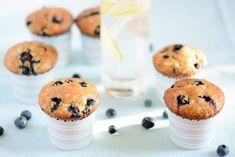 áfonyás-túrós muffin