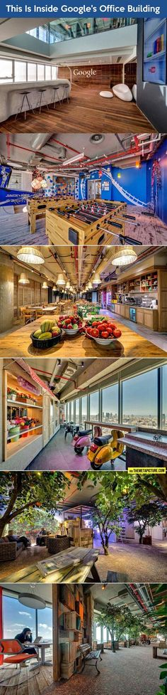 Inside one of Google's office buildings… can i just work there when i'm older????