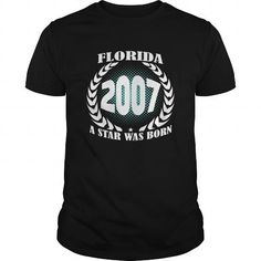 Born Florida 2007 Year Shirts A star was born Guys tee ladies tee Hoodie youth Sweat Vneck Tshirts for Girl and Men and Family #2007 #tshirts #birthday #gift #ideas #Popular #Everything #Videos #Shop #Animals #pets #Architecture #Art #Cars #motorcycles #Celebrities #DIY #crafts #Design #Education #Entertainment #Food #drink #Gardening #Geek #Hair #beauty #Health #fitness #History #Holidays #events #Home decor #Humor #Illustrations #posters #Kids #parenting #Men #Outdoors #Photography…