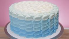 Magnolia Bakery's Stunning Ombré Cake Will WOW Your Guests!: Magnolia Bakery's ombré frosted cake is one of those mysterious things in life that you had no idea you needed until it was finally in front of you.