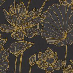 House of Hampton® Artie Lotus Floral 27' L x 27