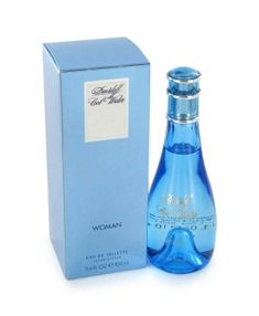 Cool Water Perfume by Davidoff a sharp, flowery fragrance. This feminine scent possesses a blend of citrus, pineapple, and woody notes.  Retail:$62  Save:44%  Sale:$34.84