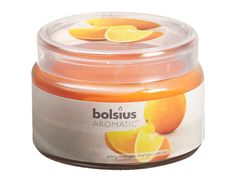 Juicy Orange Scented Aromatic Jar Candle  63x90mm