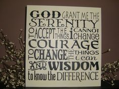 WaLL SiGn SERENITY PrAyEr TyPoGrApHy SuBwAy ArT by DAWNSPAINTING, $20.00