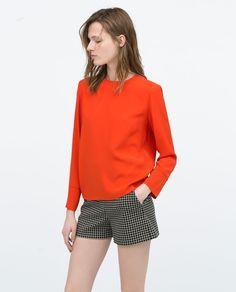 Image 2 of BACK ZIP TOP from Zara $79