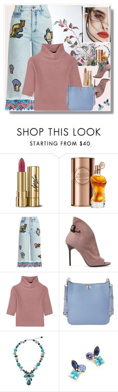 """""""Break of day Fine frost"""" by ann-kelley14 ❤ liked on Polyvore featuring Dolce&Gabbana, Jean-Paul Gaultier, Peter Pilotto, Burberry, Allude, MICHAEL Michael Kors, NOVICA, Lily Jean and Holly Dyment"""