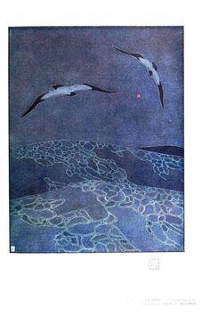 Art nouveau - Seascape (la mer)