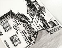 """Check out new work on my @Behance portfolio: """"Paisagem de Diamantina: Desenho com tinta nanquim"""" http://be.net/gallery/54261913/Paisagem-de-Diamantina-Desenho-com-tinta-nanquim"""