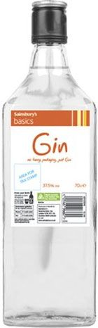 Sainsbury's Basics Gin (700ml) Sainsburys, Fruit Juice, Refreshing Drinks, Frugal Living, Gin, Beer, Bottle, Root Beer, Ale