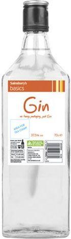 Sainsbury's Basics Gin (700ml)