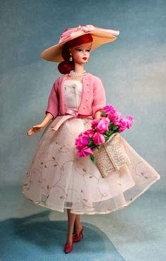 Vintage Barbie  TENUE PRINTANIERE **+