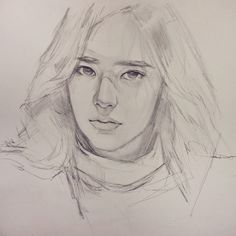 Drawing line sketch inspiration super ideas Portrait Sketches, Pencil Portrait, Drawing Sketches, My Drawings, Drawing Ideas, Sketch Ideas, Sketching, Realistic Eye Drawing, Face Sketch