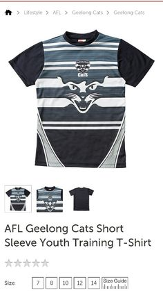 Geelong  Cats Tshirt From Target $25.00