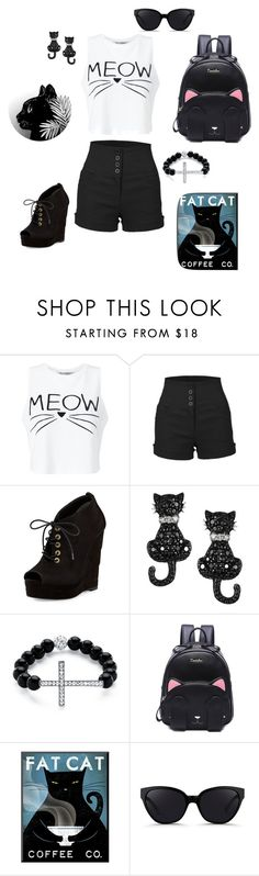 """Cat Lady Part 1: School Wear"" by jacquelinethomas-om ❤ liked on Polyvore featuring Miss Selfridge, LE3NO, Diane Von Furstenberg, Journee Collection, Palm Beach Jewelry and 3.1 Phillip Lim"
