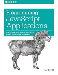 image of Programming JavaScript Applications cover