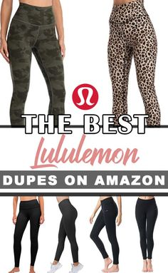 Best Amazon Buys, Best Amazon Products, Amazon Deals, Cute Workout Outfits, Workout Wear, Workout Attire, Best Lululemon Leggings, Amazon Clothes, Girls In Leggings