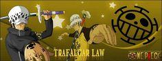 Trafalgar Lawest le capitaineet docteurdeL'Équipage du Heart, un équipage pirate constitué surtout de docteurs ~