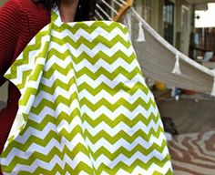 Get this simple DIY Nursing Cover tutorial and learn how to sewing a nursing cover to give as a gift or use for yourself!