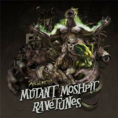 Angerfist - Mutant Moshpit Ravetunes (2014) - http://gabber.od.ua/node/12527 #music #gabber #hardcore #gabber_od_ua #angerfist